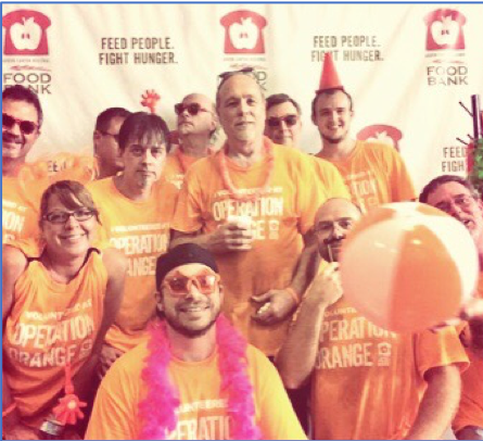 Akron Canton Food Bank Operation Orange TKM Team