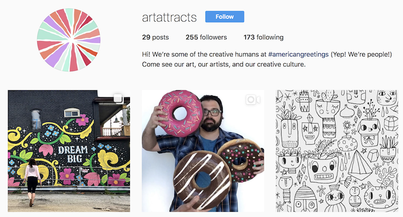 American Greetings launches new Instagram account for behind-the-scenes look at the art, artists, and culture at its Creative Studio world HQ