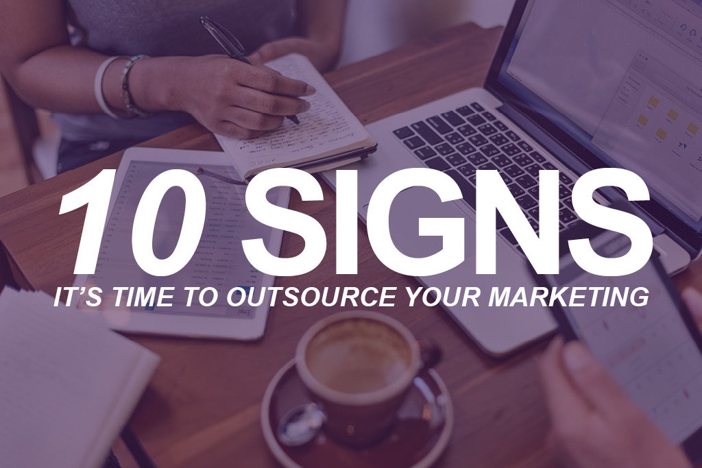 Maggie Sullivan of Roop Co. with 10 signs it's time to outsource your marketing